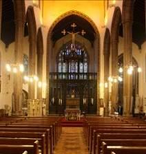 Inside of St Albans Macc